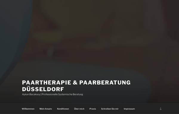 Vorschau von paarberatung-duesseldorf.de, Paartherapie & Paarberatung Düsseldorf - Aykan Bacaksoy
