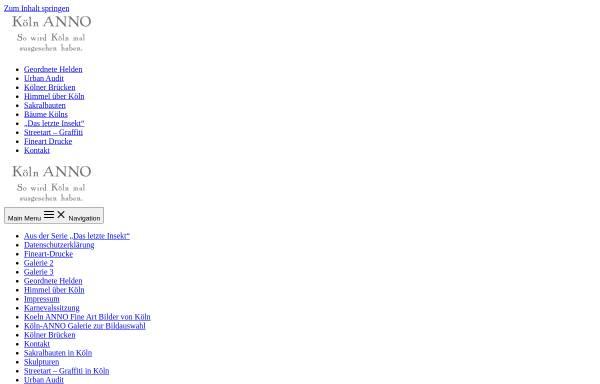 Vorschau von www.koeln-anno.de, Köln ANNO - Joachim Clüsserath