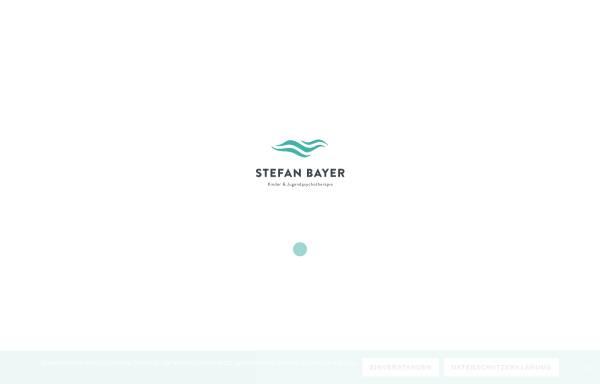 Vorschau von www.therapie-bayer.de, Stefan Bayer - Kinder und Jugendpsychotherapie