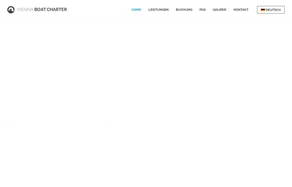 Vorschau von www.viennaboatcharter.at, Vienna Boat Charter