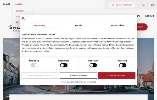 Vorschau von www.sallier-immobilien.de, Sallier Immobilien