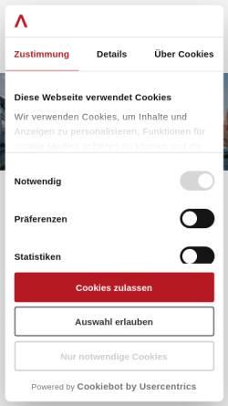 Vorschau der mobilen Webseite www.sallier-immobilien.de, Sallier Immobilien