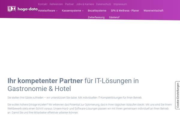 Vorschau von www.hoga-data.de, Hoga-Data EDV und Kassen für Hotel und Gastronomie GmbH