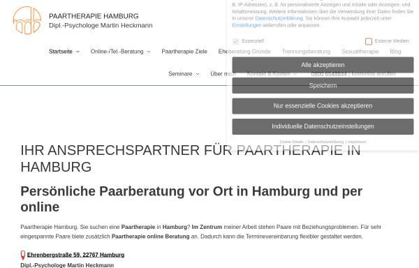 Vorschau von paartherapie-hamburg-mh.de, Paartherapie & Eheberatung Dipl.-Psychologe Martin Heckmann
