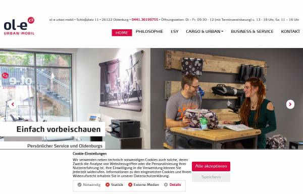 Vorschau von urban-mobil.de, ol-e urban:mobil