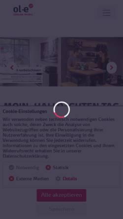 Vorschau der mobilen Webseite urban-mobil.de, ol-e urban:mobil
