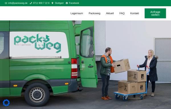 Vorschau von www.packsweg.de, Packsweg - Bollinger/Kohler GbR