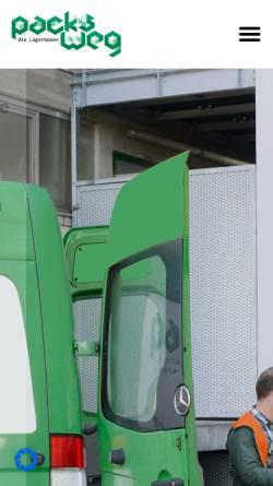 Vorschau der mobilen Webseite www.packsweg.de, Packsweg - Bollinger/Kohler GbR