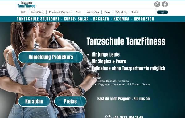 Vorschau von www.tanzfitness-stuttgart.de, Tanzschule TanzFitness