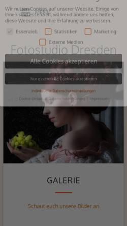 Vorschau der mobilen Webseite styling-foto.de, Beautytreff Kunze