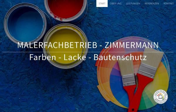Vorschau von www.malerfachbetrieb-zimmermann.de, BTS-ZIMMERMANN