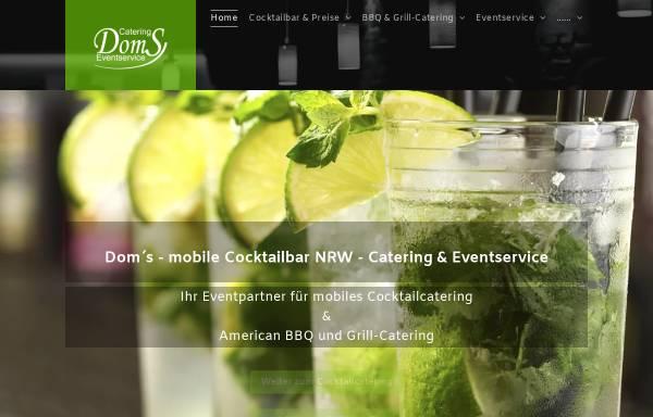 Vorschau von www.mobile-cocktailbar.nrw, Mobile Cocktailbar NRW