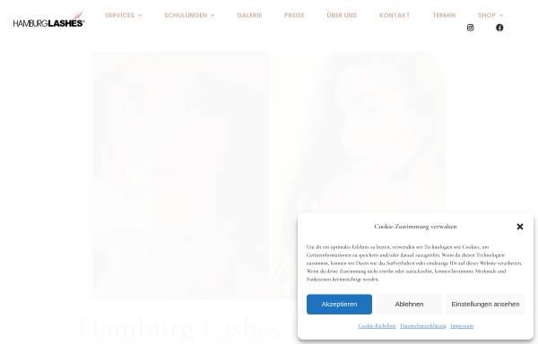 Vorschau von hamburglashes.net, HAMBURGLASHES