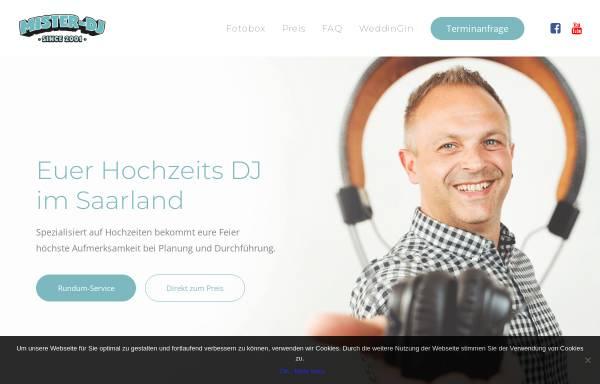 Vorschau von www.mister-dj.de, Mister DJ - Markus Müller