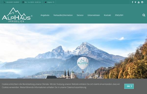 Vorschau von alphaus.immo, Alphaus Immobilien GmbH