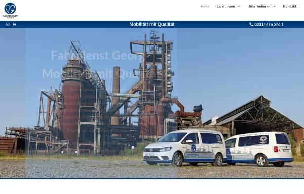 Vorschau von www.fahrdienst-georg.de, Fahrdienst Georg GmbH