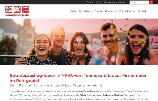 Vorschau von www.companytrip.de, CompanyTrip