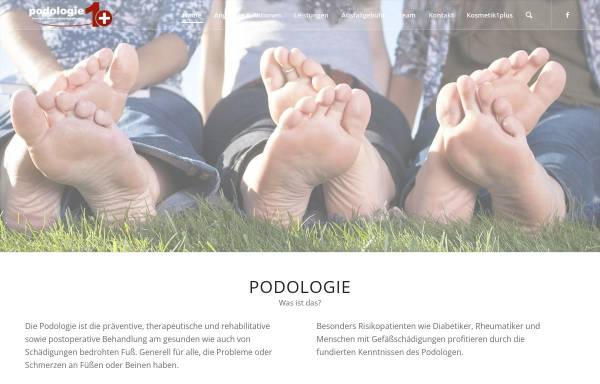 Vorschau von fusspflege-porz.de, Podologie 1plus