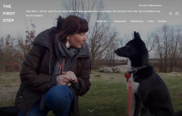 Vorschau von www.thefirststep.de, the first step - Dip.Soz.Päd. Anette Hofmann
