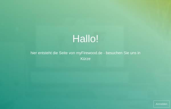 Vorschau von www.myfirewood.de, Brennholzhandel myFirewood