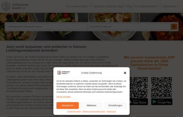 Vorschau von schlemmerbox24.de, Schlemmerbox24