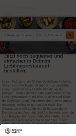 Vorschau der mobilen Webseite schlemmerbox24.de, Schlemmerbox24