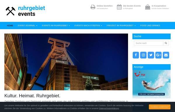 Vorschau von www.ruhrgebiet-events.com, ruhrgebiet-events.com