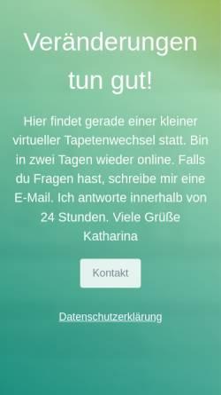 Vorschau der mobilen Webseite www.trappings.de, Trappings