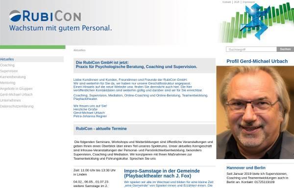 Vorschau von www.rubicon-online.de, RubiCon GmbH