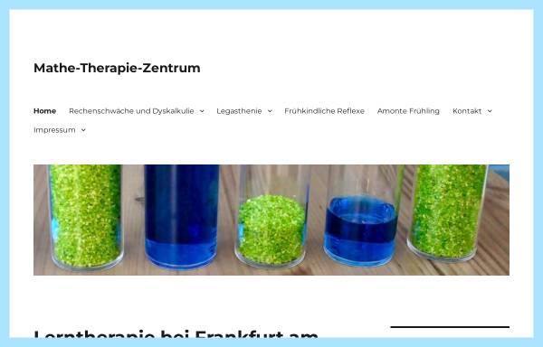 Vorschau von mathe-therapie-zentrum.de, Mathe-Therapie-Zentrum