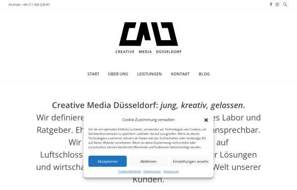 Vorschau von cm-duesseldorf.de, Creative Media Düsseldorf