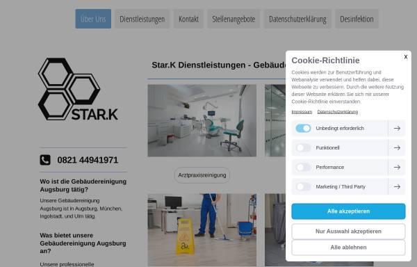 Vorschau von www.star-k.de, Star.K Dienstleistungen - Gebäudereiniung