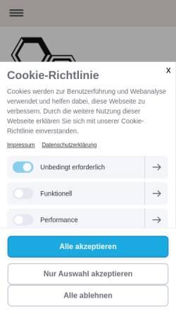 Vorschau der mobilen Webseite www.star-k.de, Star.K Dienstleistungen - Gebäudereiniung