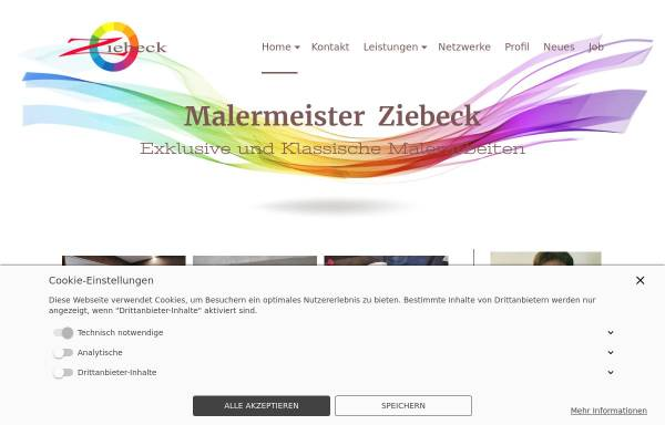 Vorschau von www.unser-maler.de, Malermeister Rolf Ziebeck