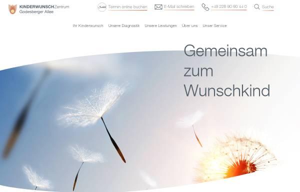 Vorschau von praxis-godesberger-allee.de, MVZ für Frauenheilkunde und IvF-Medizin Bonn GbR