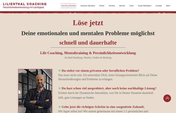 Vorschau von www.lilienthal-coaching.de, Lilienthal Coaching