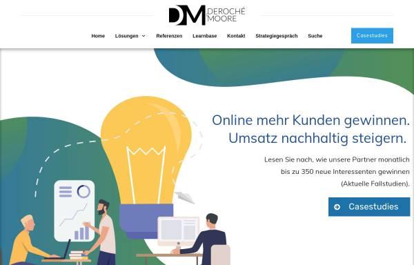 Vorschau von deroche-moore.de, Deroché & Moore GbR