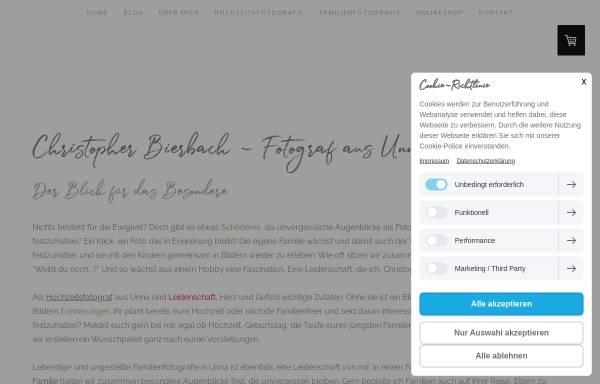 Vorschau von www.augenblicke-gemeinsam-teilen.de, Fotografie Christopher Bierbach