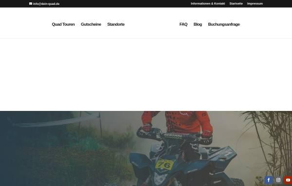 Vorschau von www.dein-quad.de, Dein Quad - Jacqueline Leese