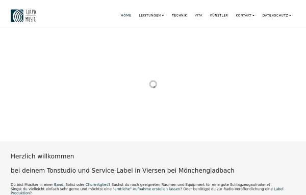 Vorschau von tjava-music.de, Tonstudio Tjava Music