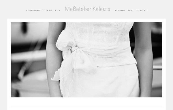 Vorschau von www.massatelier-kalaizis.de, Maßatelier Kalaizis - Meisterbetrieb