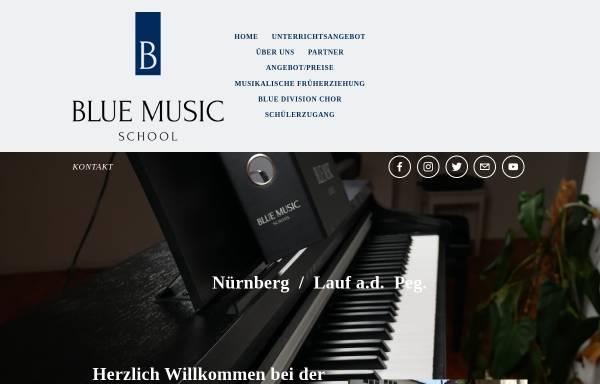Vorschau von www.blue-music-school.de, Blue Music School