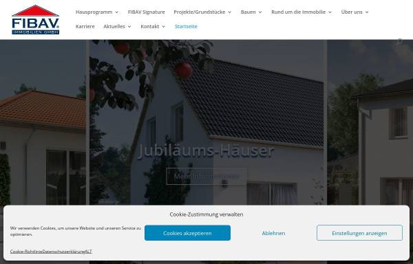 Vorschau von www.fibav.de, FIBAV Immobilien GmbH