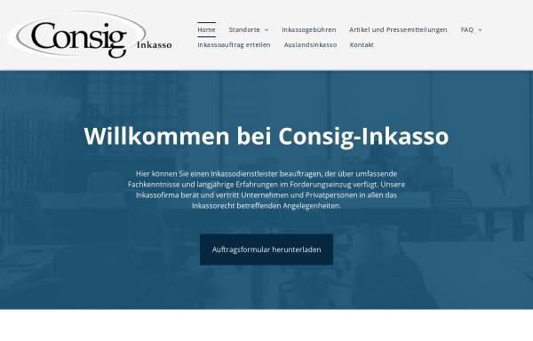 Vorschau von www.consig-inkasso.de, Consig-Inkasso