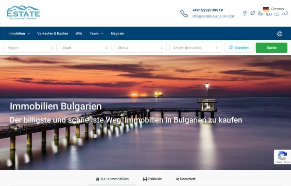 Vorschau von estate-bulgarian.com, Estate Bulgarian