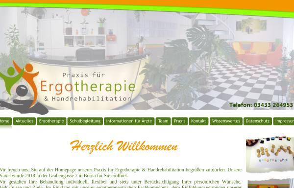 Vorschau von www.borna-ergotherapie.de, Praxis für Ergotherapie & Handrehabilitation