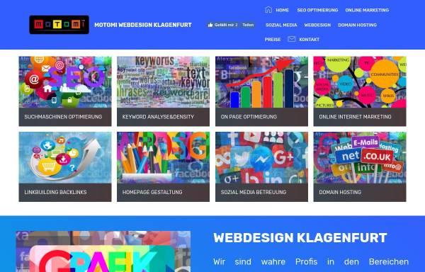 Vorschau von www.motomi.at, Motomi Webdesign