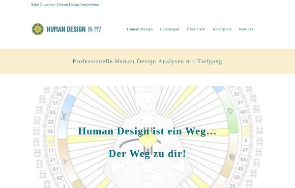 Vorschau von www.humandesign-mv.de, Anke Gluschke - Heilpraktikerin