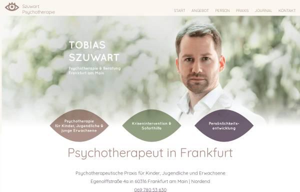 Vorschau von www.psychotherapeut-frankfurt-main.de, Psychotherapeut & Kinderpsychologe - Szuwart