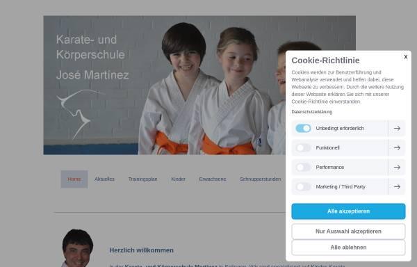 Vorschau von www.karate-solingen.de, Karate- und Körperschule Martínez